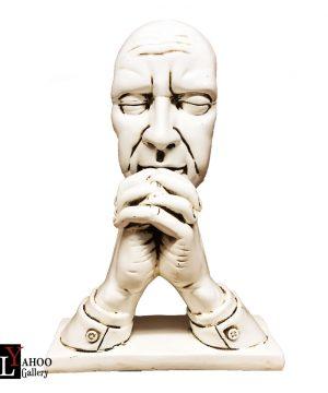 مجسمه تفکر سفید