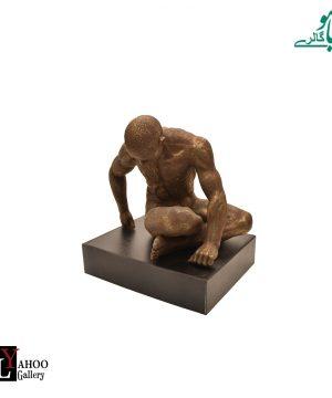 مجسمه فیگور 2 برنز