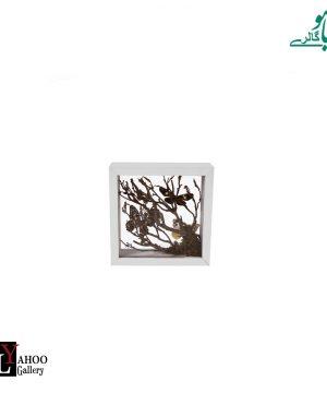تابلو پروانه کوچک سفید