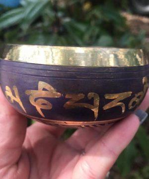 کاسه تبتی سایز 1 برجسته