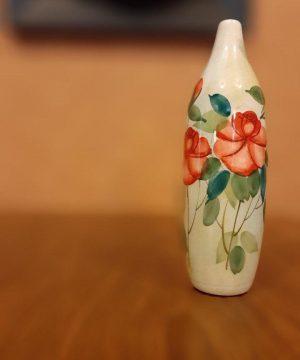 گلدان گل سرخی h2