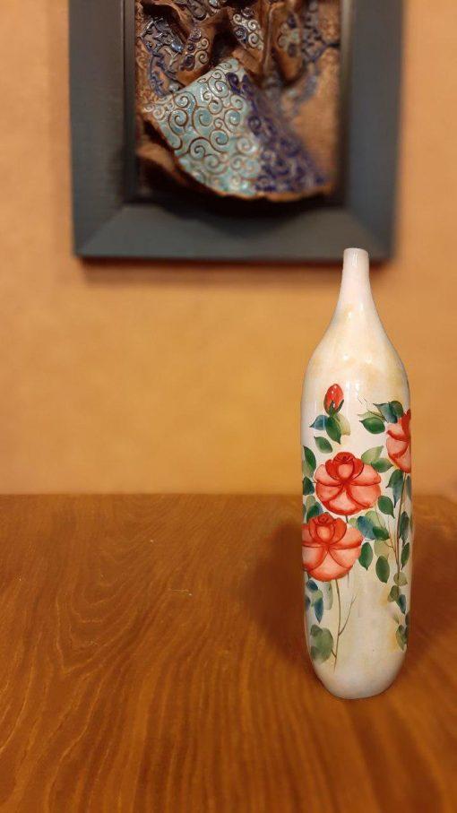 گلدان گل سرخی h3