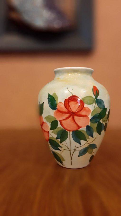 گلدان گل سرخی A-1
