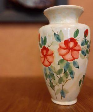 گلدان گل سرخی A-4