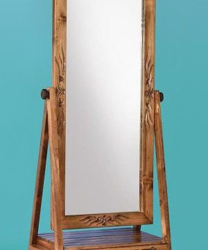 آینه چاتمه کشودار منبت