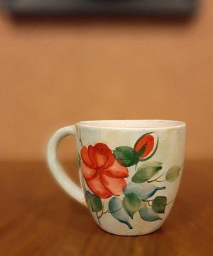 لیوان گل سرخی l-1