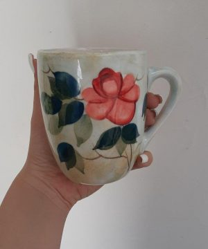 لیوان گل سرخی l-2