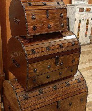 صندوقچه 4سایز قوس دار سنتی
