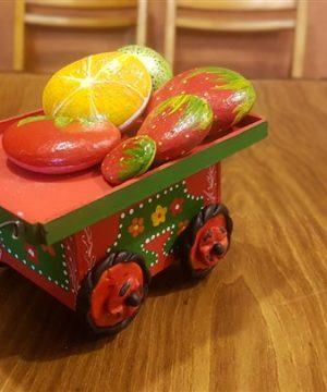میوه سنگی پرتقال توت فرنگی