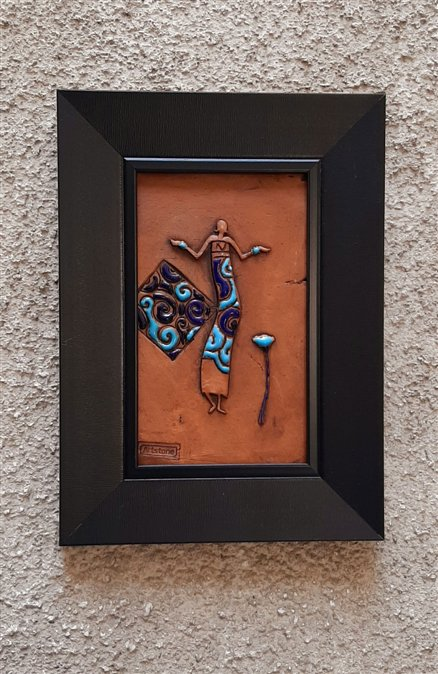 تابلو تک رقصنده افریقایی