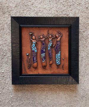 تابلو چهار رقصنده افریقایی