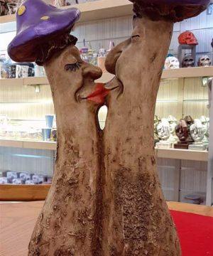قارچ بزرگ بنفش