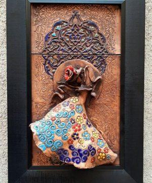 تابلو رقص باله عمودی خاص سفال
