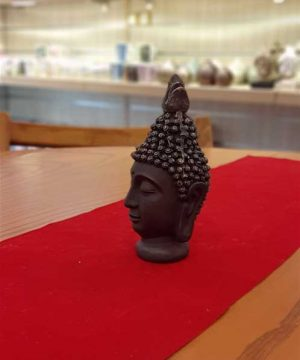 کله بودا برنز کوچک