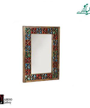 آینه 60 * 80 گره مرکب چوبی