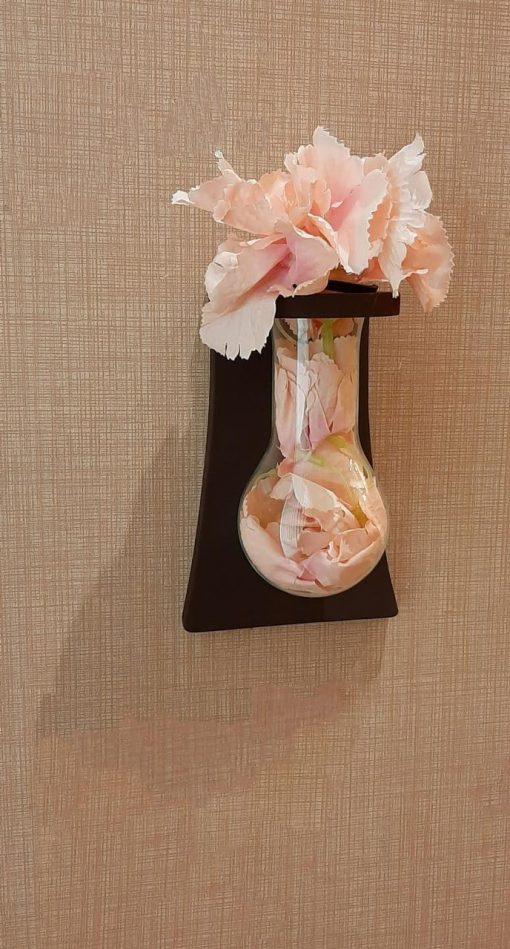گلدان مدل لامپی دیواری