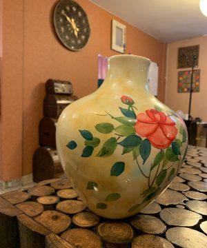 گلدان گل سرخO-1