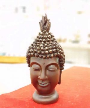 کله بودا قهوه ای کوچک