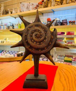 ستاره دریایی بزرگ قهوه ای