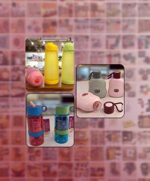 بطری و قمقمه پلاستیکی