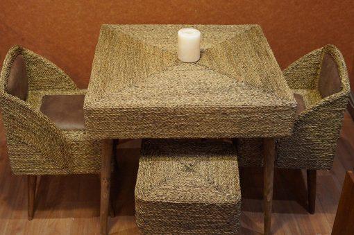 میز 4 نفره حصیر بافت
