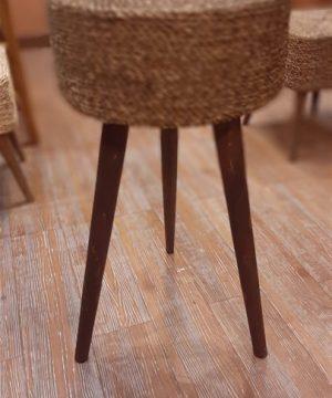 میز آباژور 75 سانت حصیر بافت