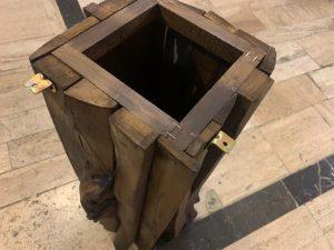 پایه میز تخته نرد چوبی