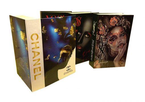 جعبه طرح کتاب رنگی