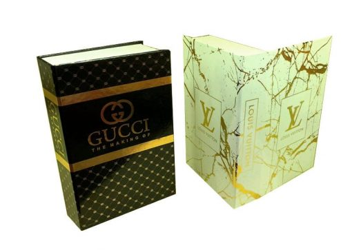 جعبه طرح کتاب طلا کوب