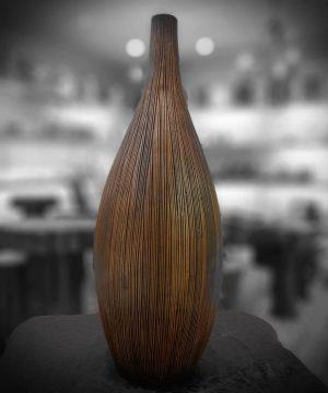 گلدان خمره ای 3 سایز قهوه ای