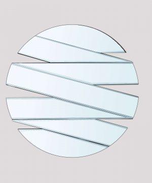 آینه دکوراتیو غروب قطر 90