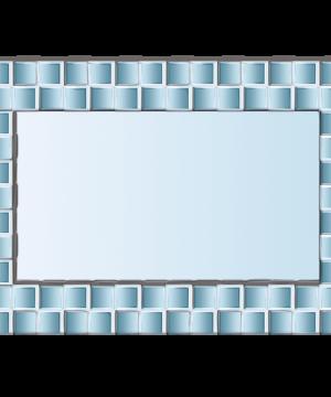 آینه دکوراتیو اجری برجسته