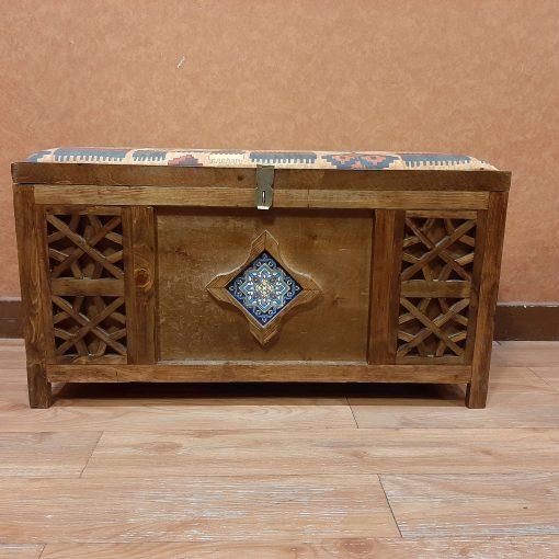 صندوق نشیمن مدل 70 سانت کاشی