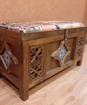 صندوق نشیمن مدل 90 سانت کاشی