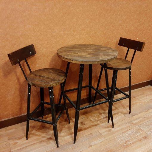 ست میز و صندلی 2 نفره اوپنی گرد ترین