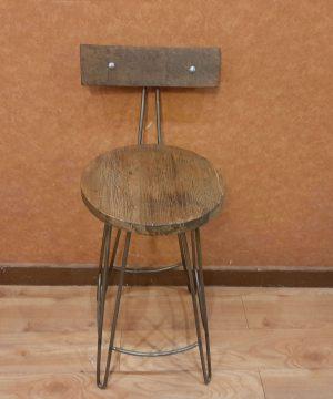 صندلی اوپنی پایه میل گرد ترین